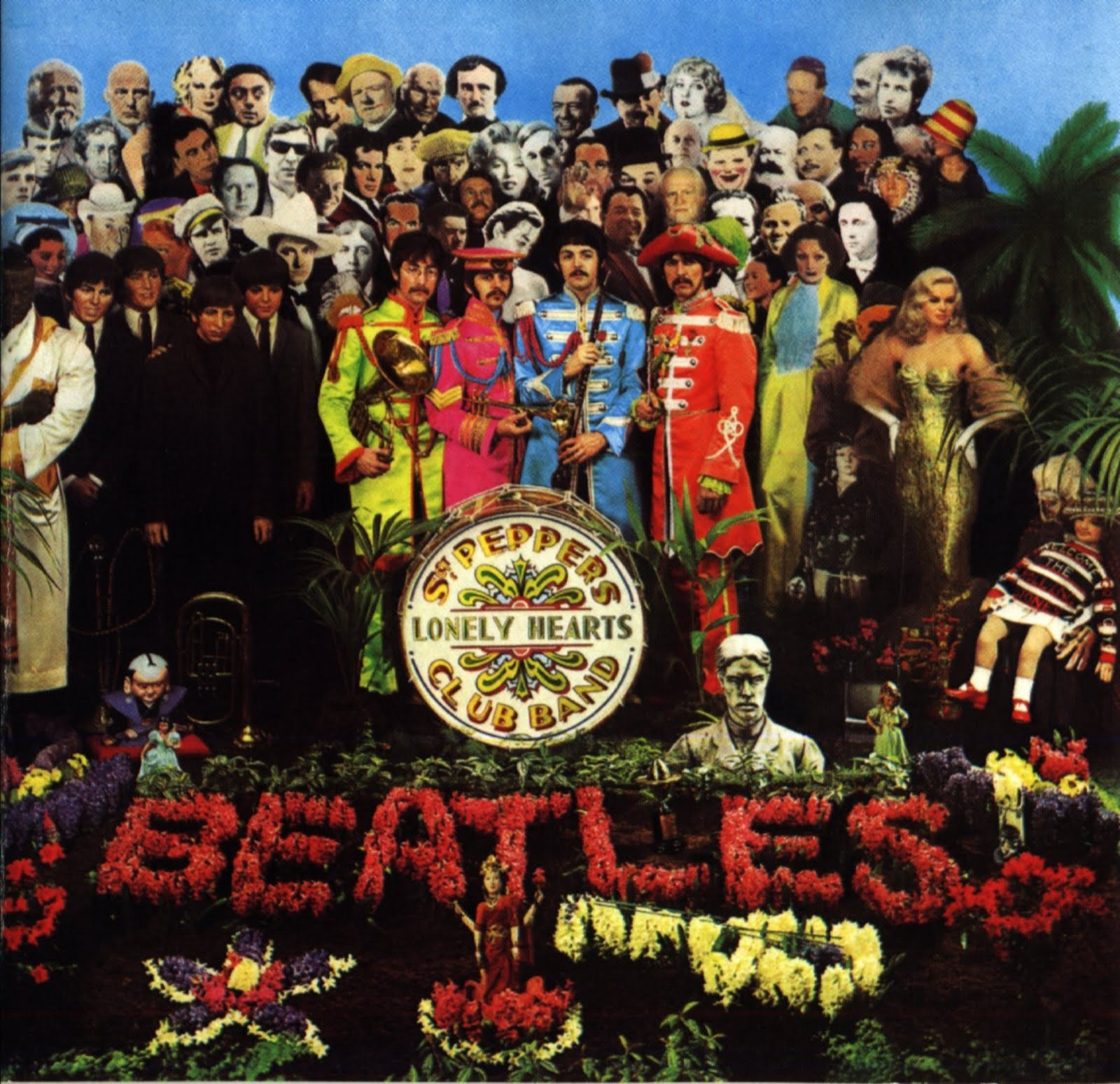 01 sgt pepper 39 s lonely hearts club band the beatles cansei do mainstream. Black Bedroom Furniture Sets. Home Design Ideas