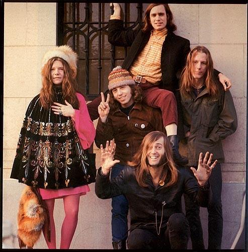 Fotografia da banda feita por Linda McCartney em São Francismo, 1967.