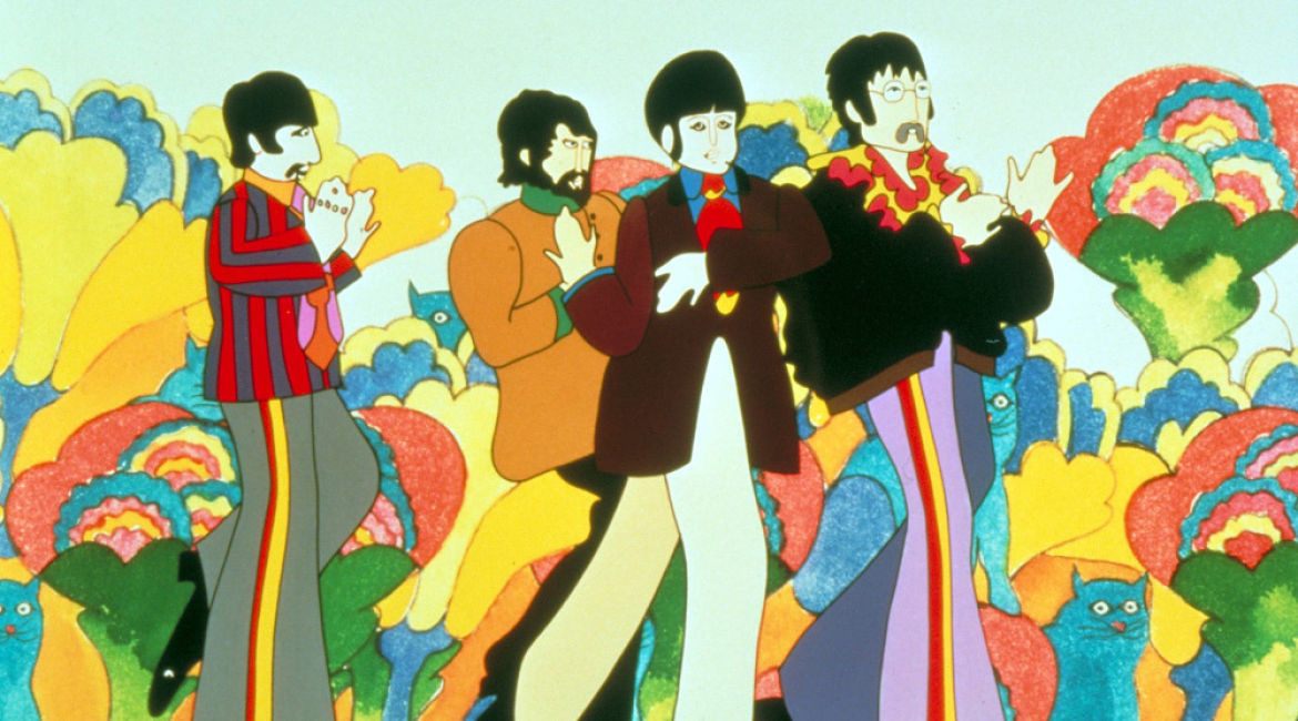 No Merchandising. Editorial Use Only. No Book Cover Usage Mandatory Credit: Photo by Snap Stills/REX/Shutterstock (1933403c) The Beatles Yellow Submarine - 1968