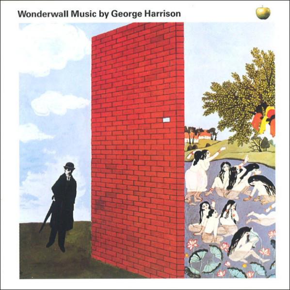 a arte da capa criada pelo americano Bob Gill faz referência ao filme Wonderwall de 68.