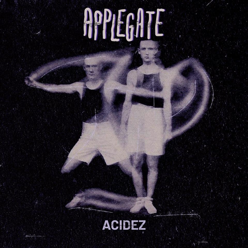 arte da capa de 'Acidez' por Rafael Penna.