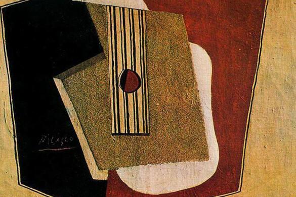 """Pablo Picasso - """"The Guitar"""" (1916)"""